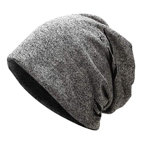Männer Frauen Beanie Cap Winter Baumwolle Warme Kopfbedeckung Lässige Ohrenschützer Hut Slouchy Saum Hut