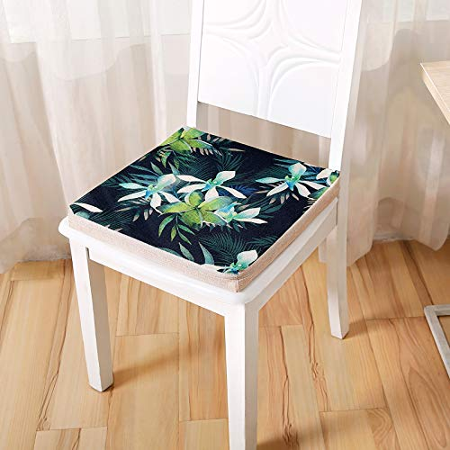 DL&VE Square Chair Cushion,Indoor Outdoor All Weather Chair Pads,Garden Patio Home Chair Cushions,Thickened Sponge Couch Cushion
