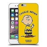 Head Case Designs Licenciado Oficialmente Peanuts Charlie Brown Personajes Carcasa de Gel de Silicona Compatible con Apple iPhone 6 / iPhone 6s