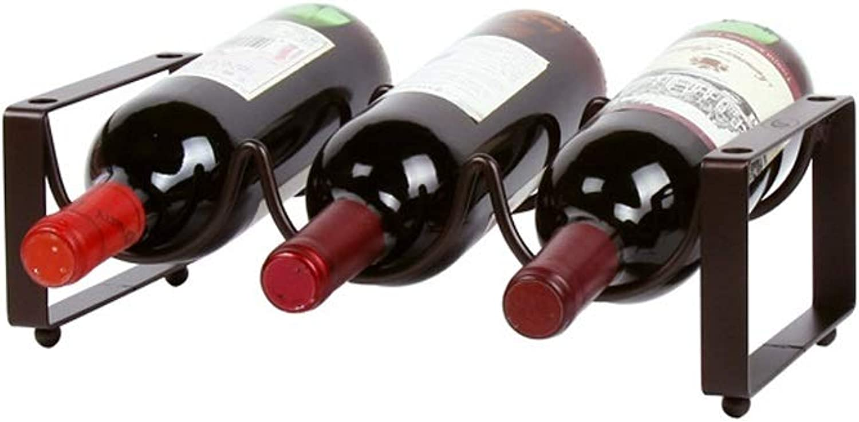 Stackable Wine Rack Holder with Storage Stand Countertop Creative Sturdy Bottle Holder Wine Cupboard Storage Wine Bottles Organiser on Table