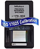 Mitutoyo 178-602 Precision Reference Specimen with ISO 17025 Accredited Calibration