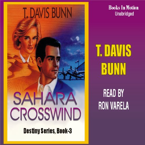 Sahara Crosswind audiobook cover art