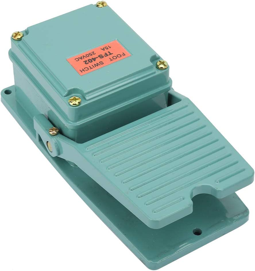 Charlotte Mall TFS-402 Limited time cheap sale Foot Pedal Switch Momentary Tre