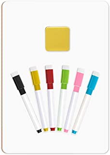 Selizo Dry Erase Whiteboards with Markers and Erasers for Math Classroom