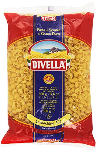 Divella - Lumachine 52, Pasta di semola di Grano duro, 500 g