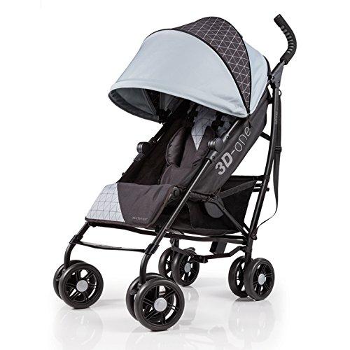 Summer 3D-one Convenience Stroller, Flint Grey