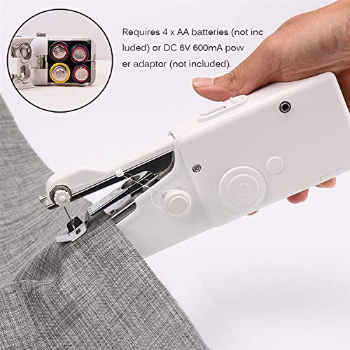 Great Price! Electric Handheld Electric Sewing Machine Mini Portable Handy Stitch Home Sewing Quick ...