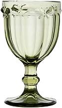 Conjunto de 6 Taças para Água de Vidro Sodo Cálcico Rojemac Verde