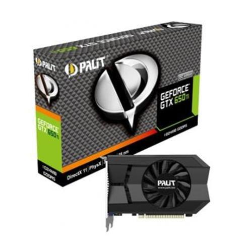 Palit NVIDIA GTX 650 TI Grafikkarte (PCI-e, 1GB GDDR5 Speicher, DVI, Mini-HDMI, 1 GPU)