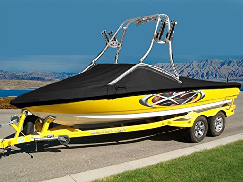 Buy Bargain 7 oz Solution Dyed Polyester Material Custom Exact FIT Boat Cover Supra SC350-550 W/PRO ...