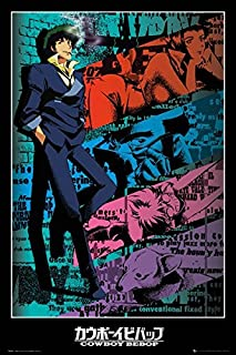Cowboy Bebop - Anima/Manga TV Show Poster/Print (Spike) (Size: 24 inches x 36 inches)