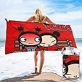 SFWER Asciugamani da Bagno-nuotatori Pucca Asciugamano Leggero Super Assorbente Asciugamano da Spiaggia ad Asciugatura Rapida per Campeggio, Escursionismo e Uso Domestico