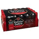 Estrella Galicia Cerveza - Paquete de 24 x 330 ml - Total: 7920 ml
