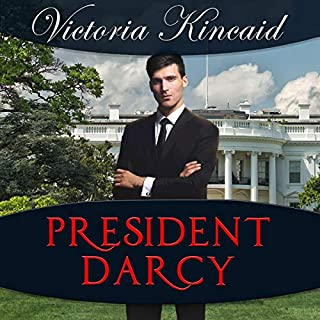 President Darcy audiobook cover art