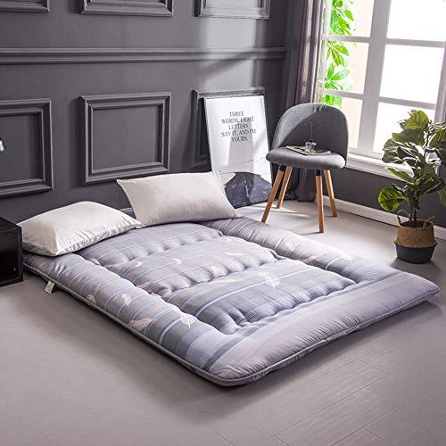 ASDFGH Tradicional Suelo Japon Colchones de futon, Colchón del Estudiante Espesar Colchón Tatami, Que Colchón Plegable Futon colchón-C Completo