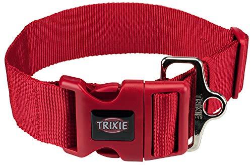 Trixie Premium Collare TG. L-XXL 55-80 CM. / 50 MM. Rosso
