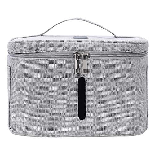 U ~ V desinfectie Bag, Sanitizer Box sterilisator voor de mobiele telefoon Mask Melkflessen Kleding Glazen Makeup Tools,Gray