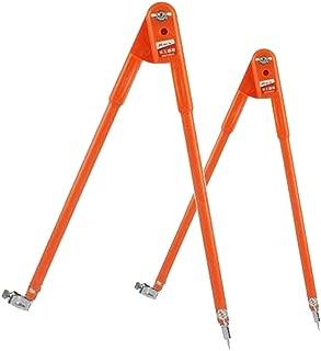 Orange L B Blesiya 2 Compas//Set Compas /à Crayons de Precision Pieds /à coulisse