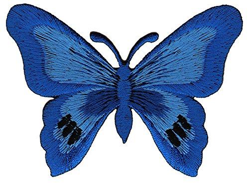Aufnäher Bügelbild Aufbügler Iron on Patches Applikation Schmetterling Falter Butterfly Kinder Baby
