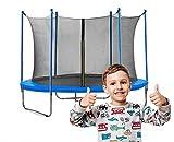 Gartentrampolin Waldensports 8FT 244cm, für Kinder, Trampolin Outdoor, Trampolin mit...
