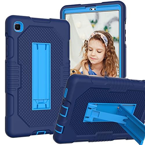 A-BEAUTY Funda para Galaxy Tab A7 Lite 8.4 pulgadas 2021 (SM-T220/T225), cubierta con soporte [a prueba de golpes] [Kickstand], azul marino