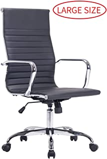 Sidanli Conference Room Chairs Black Office Chair-High Back Desk Chair