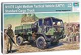 Trumpeter 01004 Modellbausatz M1078 LMTV Standard Cargo Truck -