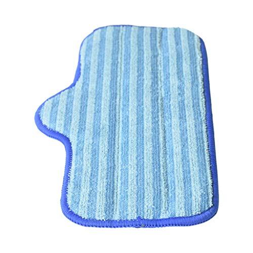 Detrade 2er Pack Mikrofaser Pads Kompatibel mit Dupray Neat Steam Cleaner Fibre Mop (Blue)