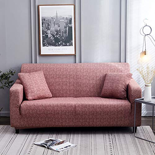 ASCV Funda de sofá Tight Wrap Stretch Funda de sofá Toalla de sofá para Muebles Sillón Sofá seccional Estilo L Fundas Funda de cojín A2