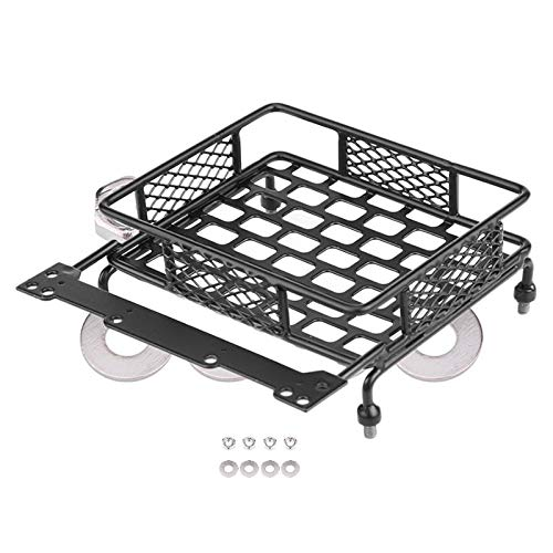 SNOWINSPRING Luggage Tray Roof Rack Upgrade Accessory Parts for CC01 CR01 D90 SCX10 1/8 1/10 RC Crawler Climbing Car