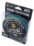 Stork HD, 4-hilo trenzado pesca 300m (Musgo Verde, 40 lbs / 18.1 kg / 0.29 mm)