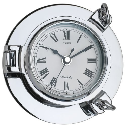 Nauticalia - Baromètre de Cabine - Chromé