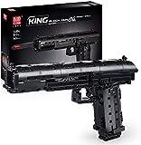 Bloques de Construcción Technic Modelo de Pistola, 563 + Piezas Juego de Construcción de Arma-Rifle Compatible con Lego Technic