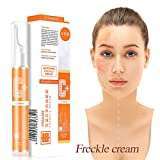 15ml VC Whitening Freckle Blemishs Cream Brightening Skin Tone Facial Moisturizing Curing Anti Wrinkles Dark Spot Remover For Face & Melasma Treatment Fade Cream