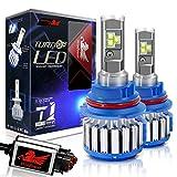 Win Power 9007 LED Headlight Bulb Dual High Low Beam Conversion Kit CREE 70W 7200LM 6000K Cool White-2 Yr Warranty