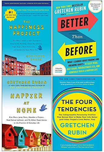 Gretchen Rubin Collection 4 Books Set The Happiness Project Better Than Before Happier at Home product image