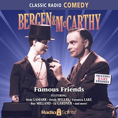Bergen & McCarthy: Famous Friends cover art