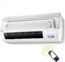 SXFYWJP Cálida y fría de Doble Uso soplador baño Ventilador calefacción eléctrica montada en la Pared más Caliente de cerámica radiador de Calor de Aire del radiador acondicionador