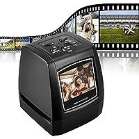 """DIGITNOW! Escáner de película para 35mm Negativos y Diapositivas, Escáner de Alta resolución con 2,4"""" LCD, Convertidor No se Requiere PC y Software"""