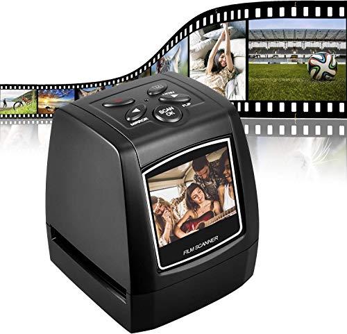 DIGITNOW! 5M / 10M Stand Alone 2,4 \'\' LCD-Display Film/Dia Scanner 1800DPI hohe Auflösung Bildscanner in USB2.0-Schnittstelle Konvertieren in PC