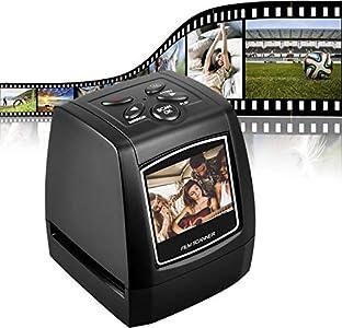 DIGITNOW! Escáner de película para 35mm Negativos y Diapositivas, Escáner de Alta resolución con 2,4
