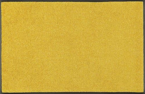 Wash&Dry 087908 Trend-Colour Honey Gold Fußmatte, Acryl, Gelb, 40 x 60 x 0.7 cm