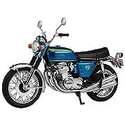 スカイネット 1/12 完成品バイク Honda CB750FOUR (K0) キャンディブルー