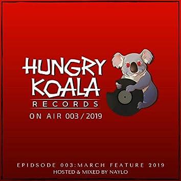 Hungry Koala On Air, 003, 2019