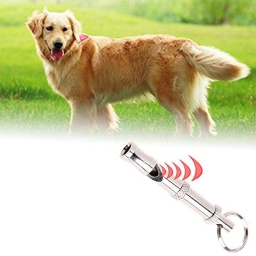Wiffe Pet Hundepfeife für Gehorsamkeitstraining Ultraschall Supersonic Sound Pitch leise verstellbare Flöte Welpe