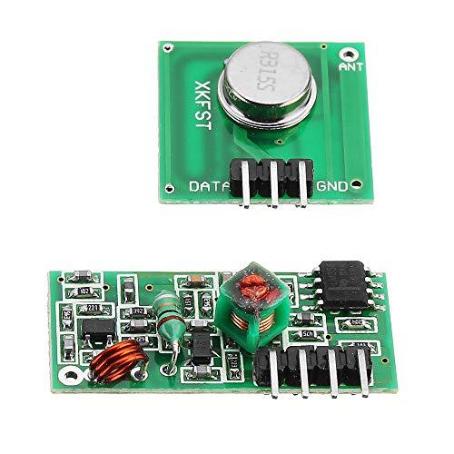 ILS - 10 stuks 433 MHz draadloze RF zender en ontvanger module Kit voor Arduino MCU
