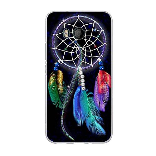 Hülle für HTC U11,FUBAODA,Kunst Zeichnung Design [Traumfänger],Hochwertige Langlebige Ultra Dünn Soft Silikon Schutzhülle-Schutz vor Fingerabdruck,Staub & Scratch-Stoßfest TPU Handyhülle für HTC U11