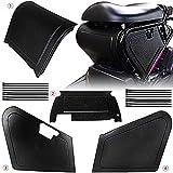 XCVUISDFJK Accesorios de decoración de Coches Los Paneles de la Motocicleta bajo el Asiento de Almacenamiento Negro Body Fit for los Modelos Honda Ruckus/Zoomer NPS50