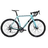 Eastway Carbon - Bicicleta de Carretera para Hombre, L, Color Azul