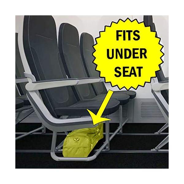 Roamlite Bolsa de Viaje Pequeña – Bolsos Para 2º Artículo de Equipaje de Mano en Ryanair – Bolsa de Viaje Fabricada con…